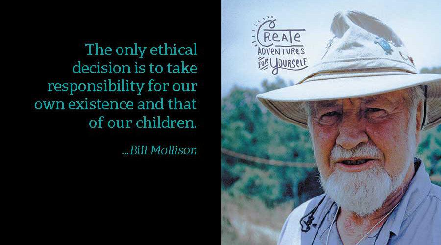 In memory of Bill Mollison
